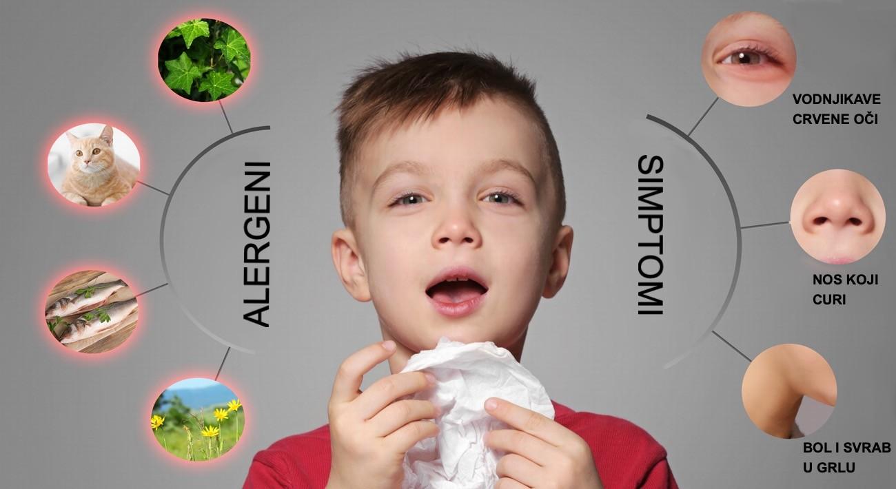 Najčešći alergeni i simptomi alergije